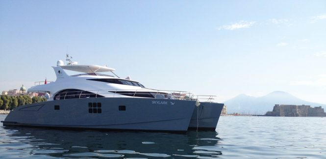 SKYLARK Sunreef catamaran yacht