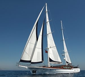 No Delivery Fees for Sardinia and Corsica yacht charter aboard 43m S/Y CLEAR EYES