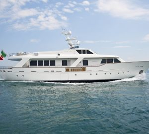 Sardinia yacht charter special for 30m Benetti MRS WHITE