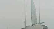 WATCH: S/Y A has sailed for the first time