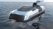 Futuristic Yacht Tender Concept by Kurt Strand