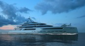 Unveiled: M/Y Vigor, the 110m concept plus tenders from Virgin Concept Yachts