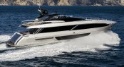 First Ever Images of the Impressive Yacht Riva 100′ Corsaro