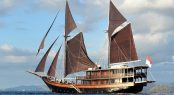 Charter through Indonesia's stunning Komodo National Park aboard S/Y Dunia Baru