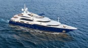 New Paint Job: M/Y LADY MICHELLE ready to impress on Amalfi and Western Mediterranean charters