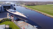 Royal Huisman 58m Sailing Yacht Ngoni Sees the Daylight For the First Time