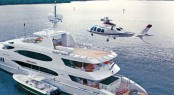 Top 15 Superyachts  with Helicopters