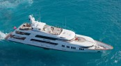Charter superyacht Rockstar in the Caribbean
