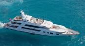 Charter superyacht Rockstar in the Caribbean