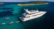 40m Superyacht BRAZIL available for charter during Ultra Europe Music Festival in Croatia