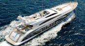Charter newly refitted open yacht Pure One in the Mediterranean