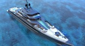 Futuristic 101m Superyacht Concept Mauna Kea