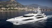 Charter superyacht Illusion V in the Mediterranean