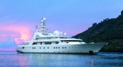 Charter glamorous superyacht Grand Ocean in the Mediterranean