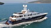 Charter M/Y Sequel P in the Western Mediterranean