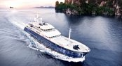 Charter classic explorer yacht Northern Sun in Southeast Asia