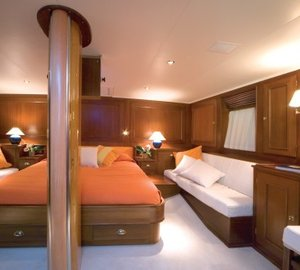 Profile: Yacht TIZIANA's Main Master Cabin Image
