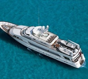 From Above Aspect Aboard Yacht PRAXIS