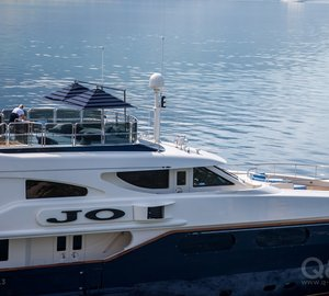 Yacht JO By Benetti - Sundeck Underway