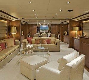 Saloon On Board Yacht LADY ELLEN