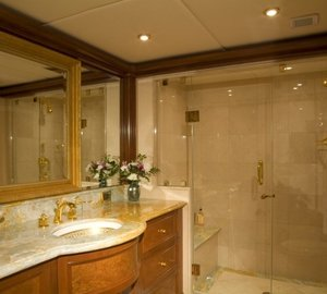 Guest's Bath Aboard Yacht BIG ZIP