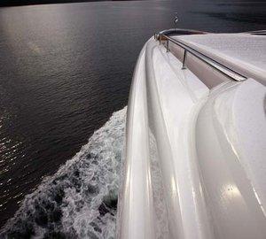 External: Yacht USHER's Close Up Captured