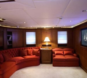 Main Master Suite On Board Yacht MONTIGNE