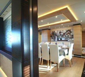 Eating/dining Saloon With Hall On Yacht TATIANA