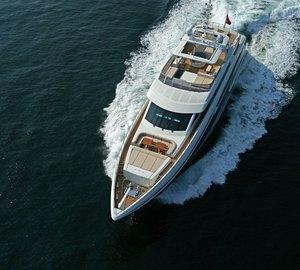 From Above On Board Yacht TATIANA
