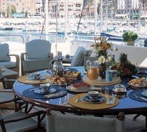 External Eating/dining On Yacht MALIBU