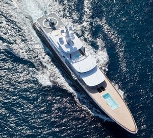 From Above Cruising On Board Yacht AIR