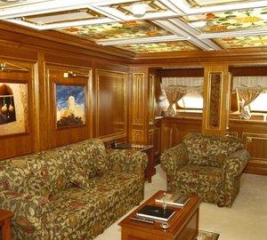 Saloon: Yacht LOALOAT AL BEHAR's Cabin Photograph