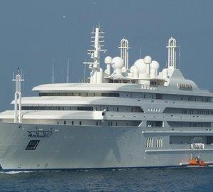 Yacht al salamah a lurssen superyacht charterworld for Lurssen yacht genova