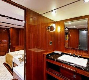 Main Master Bath On Yacht GLORIOUS