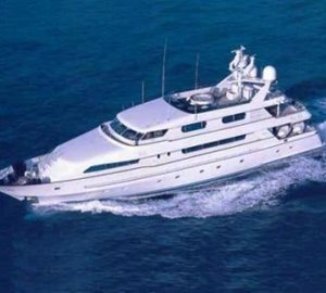 From Above Aspect: Yacht OURANOS TOO's Cruising Captured