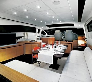 Inside Aboard Yacht ANGELS AND DEMONS