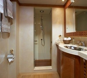 Guest's Bath On Yacht CINDERELLA IV