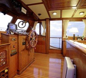 Classic Feadship motor sailer ROTA II