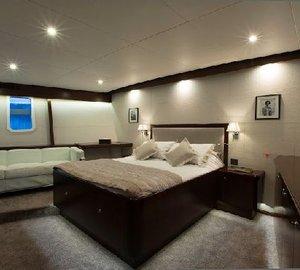 Classic Yacht SULTANA -  Master Cabin