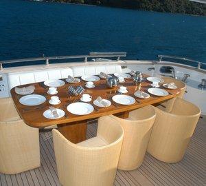 IFA PHUKET - Aft Deck Dining