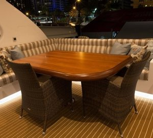 LA MANGUITA - Flybridge dining