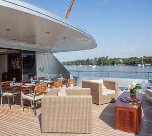 Motor yacht POLLY -  Aft Deck Seating