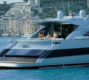 Pershing Yacht SILVER SEA - Aft Deck