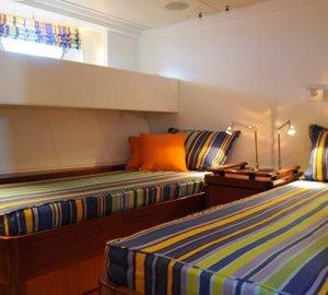 Sailing Yacht Billy Budd 2 -  Twin Cabin 3