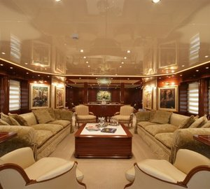 Superyacht OCEANOS -  Main Salon