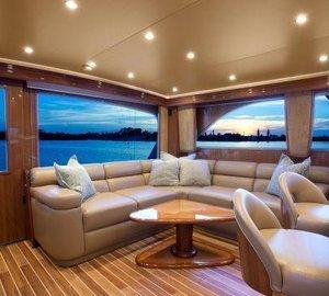 Viking 64 yacht BAREFOOT -  Salon