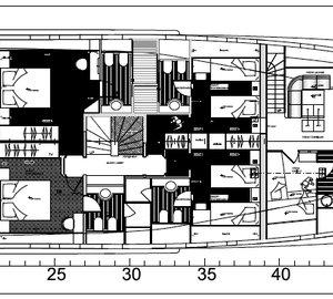 Yacht IDEFIX - Layout
