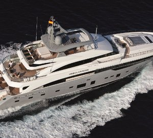 Yacht IMPERIAL PRINCESS -  From Above