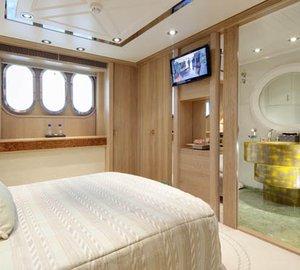 Yacht LA MASCARADE -  Aft Guest Cabin