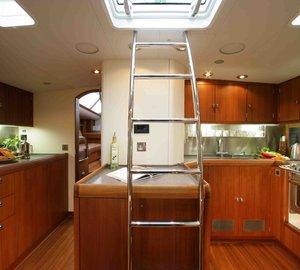Yacht LUSKENTYRE -  Galley